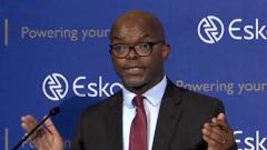 Eskom CEO Phakamani Hadebe.