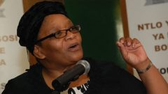 NCOP Chairperson Thandi Modise