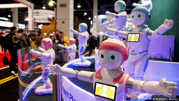The iPal robot in China