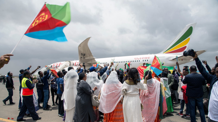 Ethiopian airlines resumes flights to Eritrea - SABC News