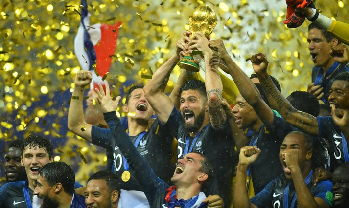 5426adce3 Looking back at 2018 FIFA World Cup: Young France triumph and ...