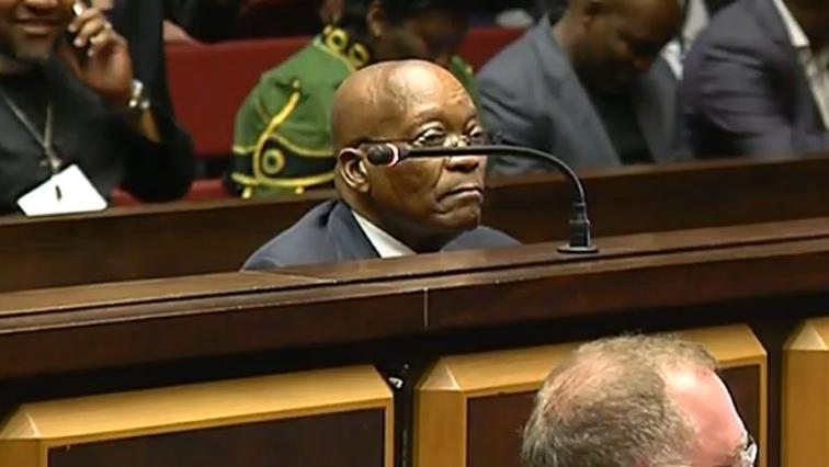 Zuma in court