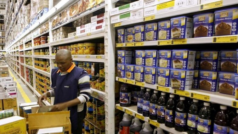 A worker at a Makro branch.
