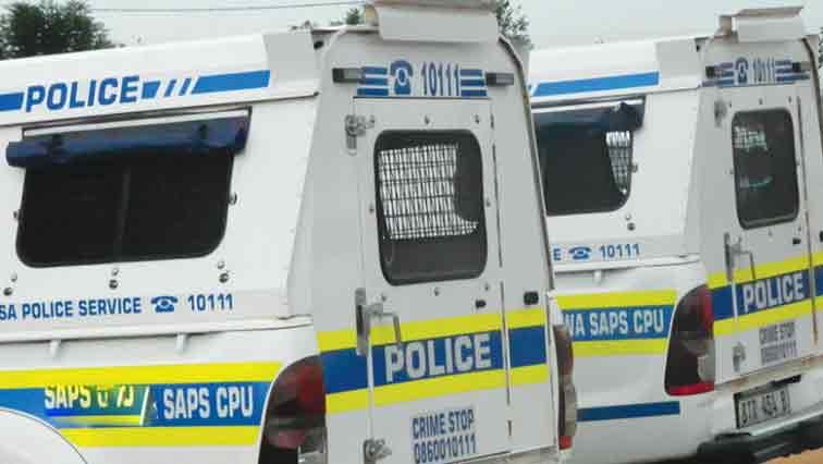 Police vans