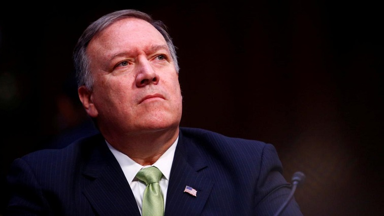 FILE PHOTO:    Central Intelligence Agency Director Mike Pompeo testifies before the U.S. Senate Select Committee on Intelligence on Capitol Hill in Washington