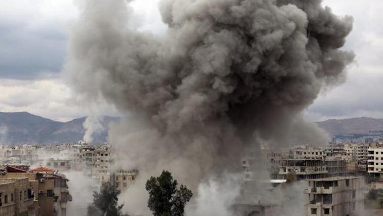 Bombing at Syria