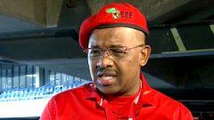 EFF National Chairperson Advocate Dali Mpofu.