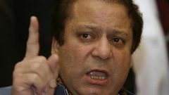 Ousted Pakistani Prime Minister Nawaz Sharif