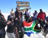 22 Trek4Mandela climbers make it to Uhuru