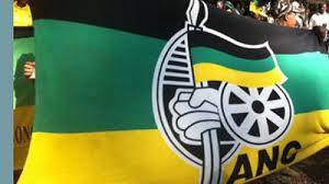 ANC logo on flag