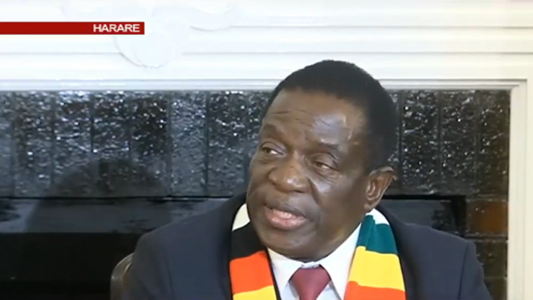 Zimbabwe President elect, Emmerson Mnangagwa.