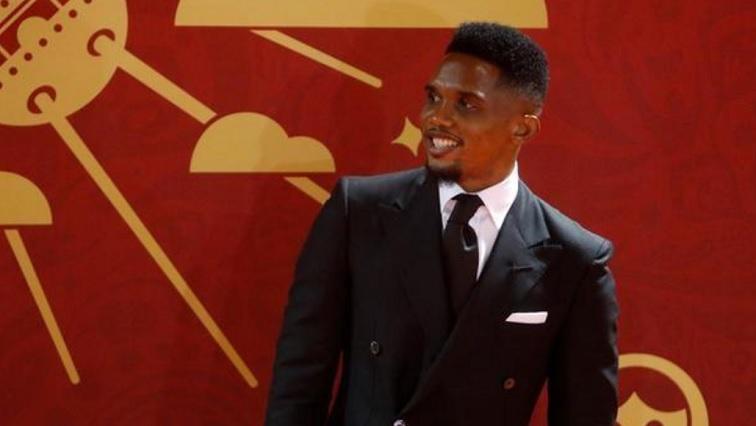 Cameroonian footballer Samuel Eto'o