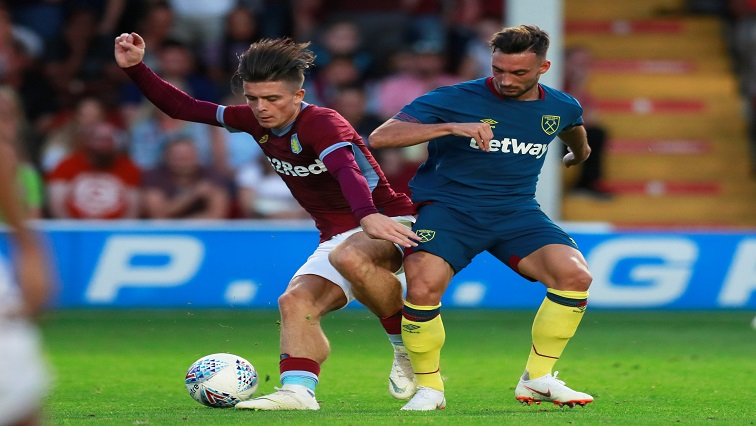 Grealish in action in a pre-season friendly