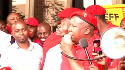 SABC News – Julius Malema-EFF