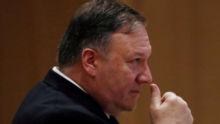 Pompeo suggested that continued work on weapons programmes by North Korea was inconsistent with its leader's commitment to denuclearise.