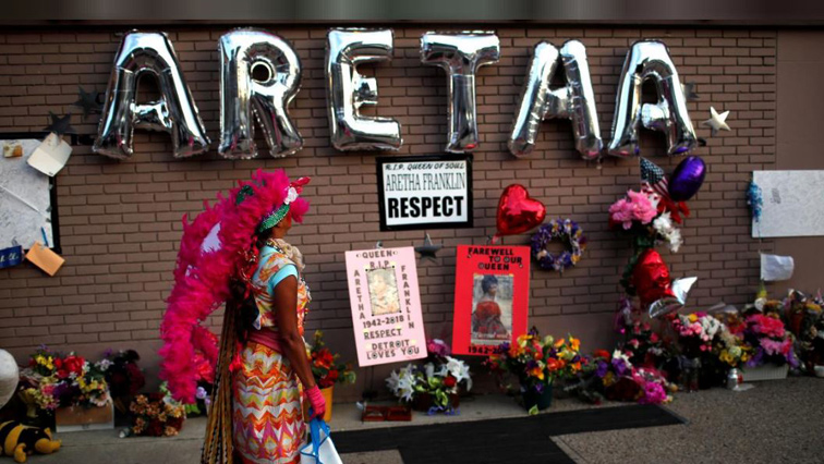 A shrine to Aretha