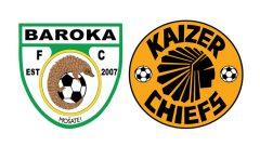 Baroka FC and Kaizer Chiefs logos.
