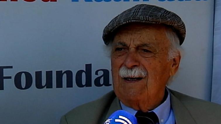 Advocate George Bizos speaking to SABC News