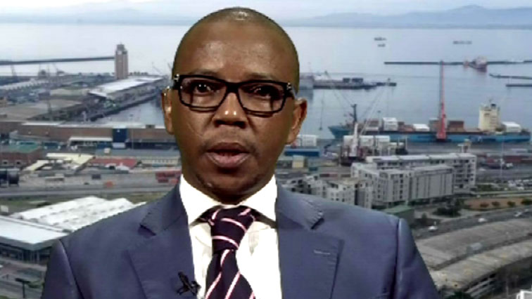 Bongani Mkongi speaking on Morning Live