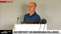 David Bruce was speaking on Marikana killings in Pretoria