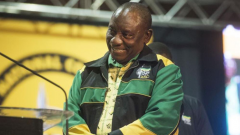Cyril Ramaphosa smiling