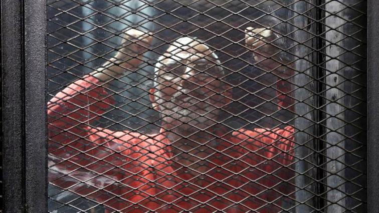 Muslim Brotherhood's leader Mohamed Badie behind bars