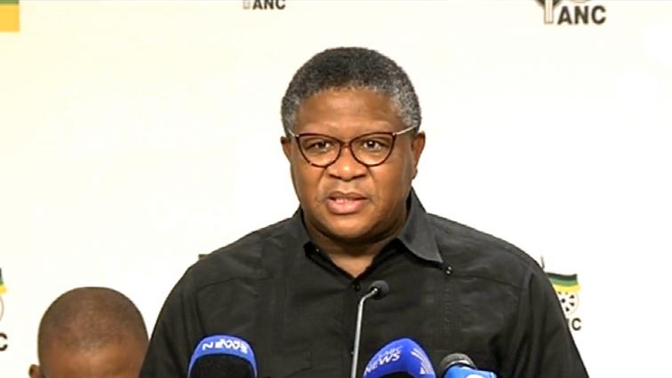 ANC Head of Campaigning Fikile Mbalula