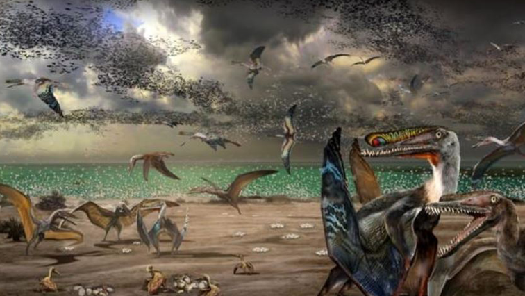 Imaging of what pterosaurs might have looked like