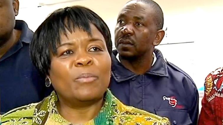 Gauteng Health MEC Gwen Ramokgopa