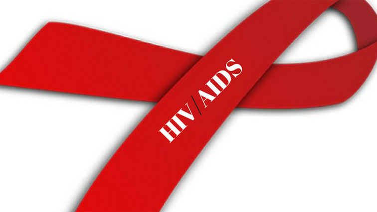 HIV/Aids red ribbon.
