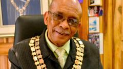 Mossel Bay Mayor Harry Levendal