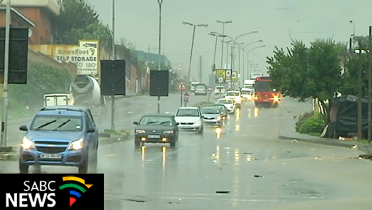 Rainy conditions. Motorists urged to be cautious.