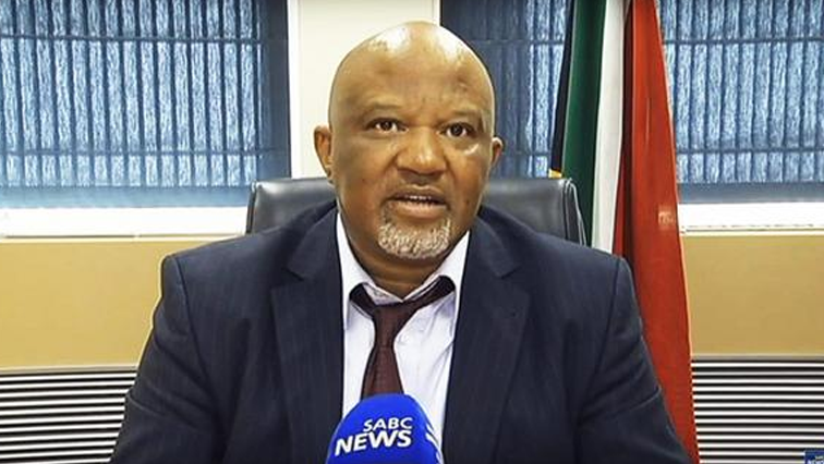 Mcebisi Jonas speaking to SABC News