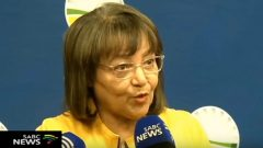 De Lille during press conference on Sunday.
