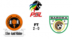 Logos of PSL, Polokwane City and Baroka