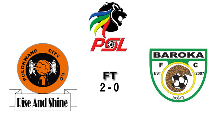 Logos of PSL, Polokwane City and Baroka