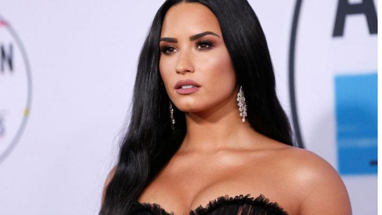 U.S. pop singer Demi Lovato