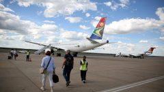 SA Express plane