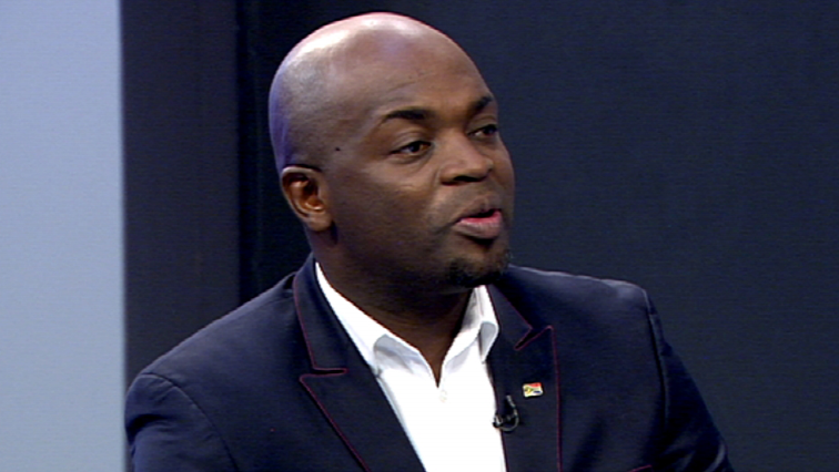 Solly Msimanga speaking to SABC News
