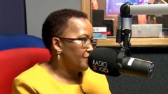 Sports Minister Tokozile Xasa interview on Radio 2000.