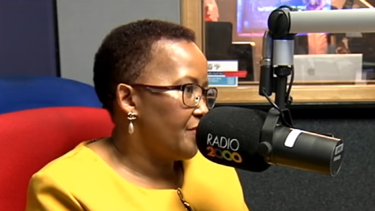 Sports Minister Tokozile Xasa interview on Radio 2000.