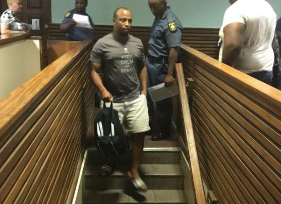 Siyanda Gxwati in court