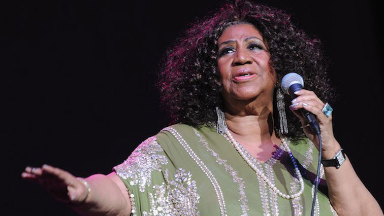 Queen of Soul Aretha Franklin.