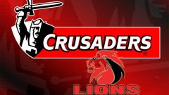 Lions and the Crusaders logos.