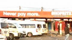 Taxi rank in Khayelitsha.