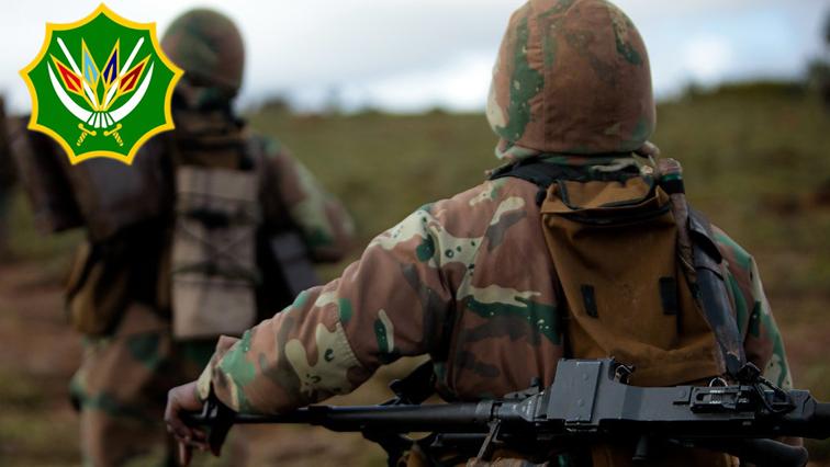 SANDF soldiers