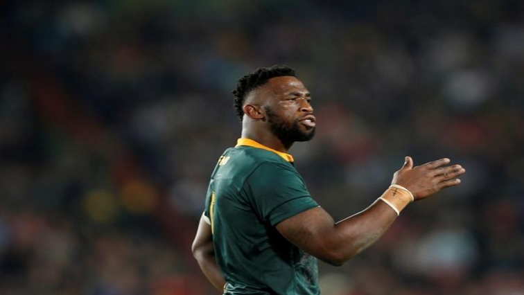 Siya Kolisi in action