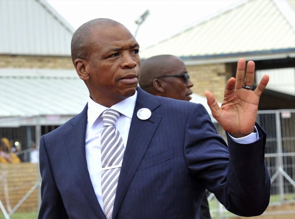 Former NW premier Supra Mahumapelo