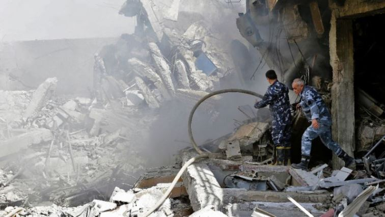 More than 350 000 people have been killed and millions displaced since Syria's civil war started in 2011.