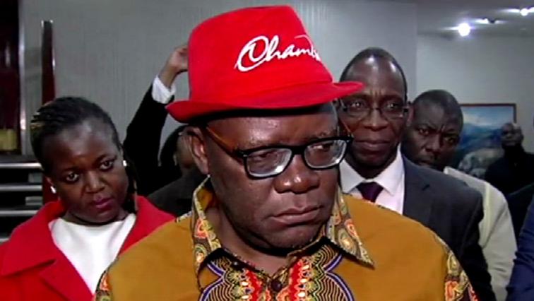 Tendai Biti is a member of the MDC Alliance.